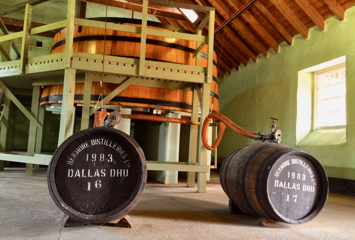 Lost Distillery Revivals: Dallas Dhu Filling Station