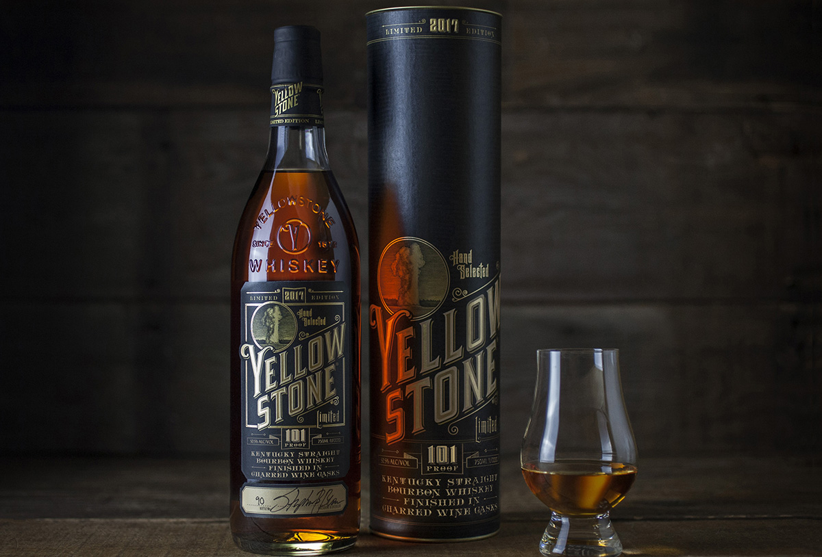 Yellowstone Kentucky Straight Bourbon Finished in Charred Wine Casks (2017 Limited Edition)