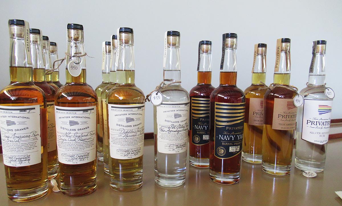 Maggie Campbell Privateer Rum: Privateer Bottlings