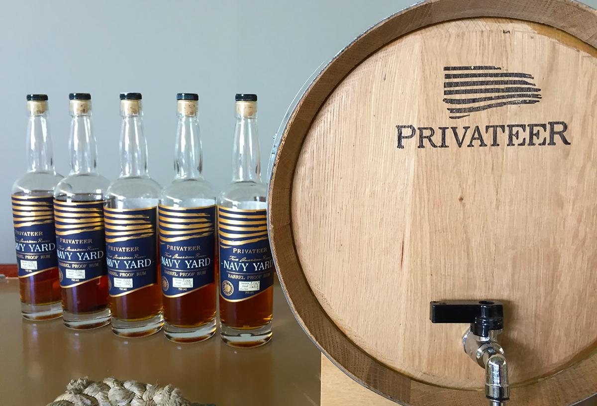 Maggie Campbell Privateer Rum: Navy Yard Rum