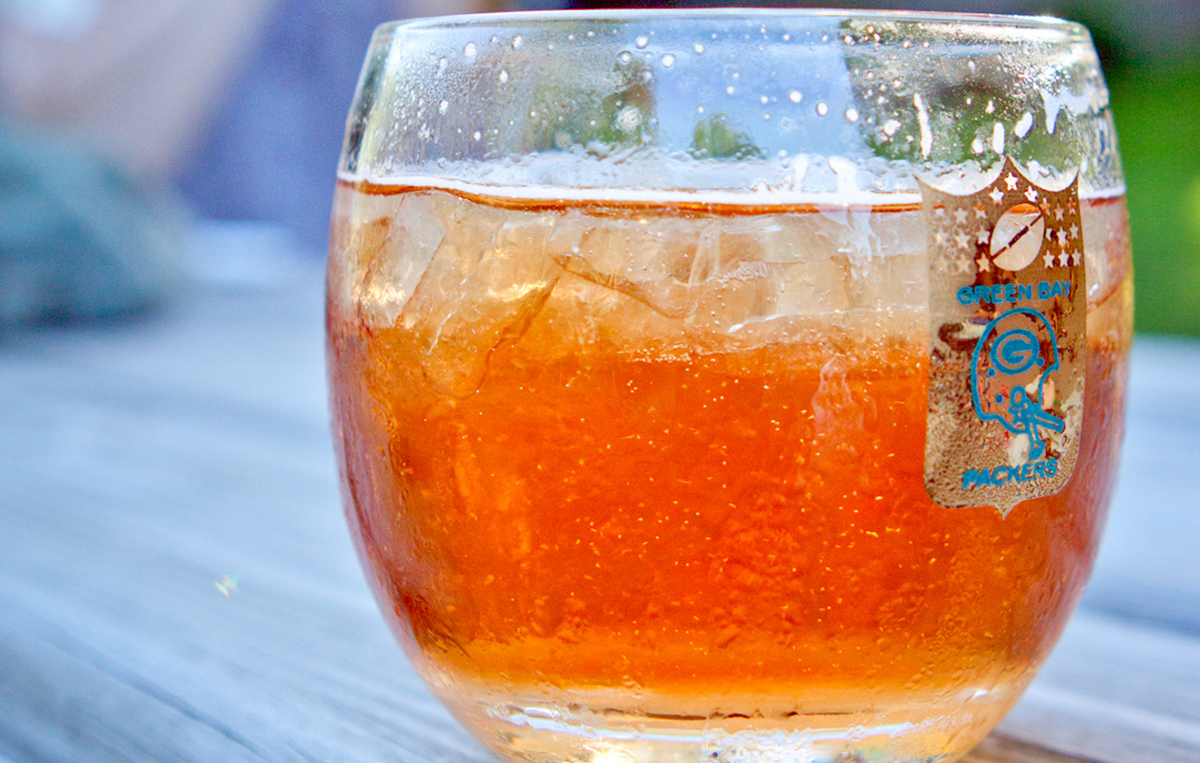 Old Fashioned Cocktail: Brandy Old Fashioned