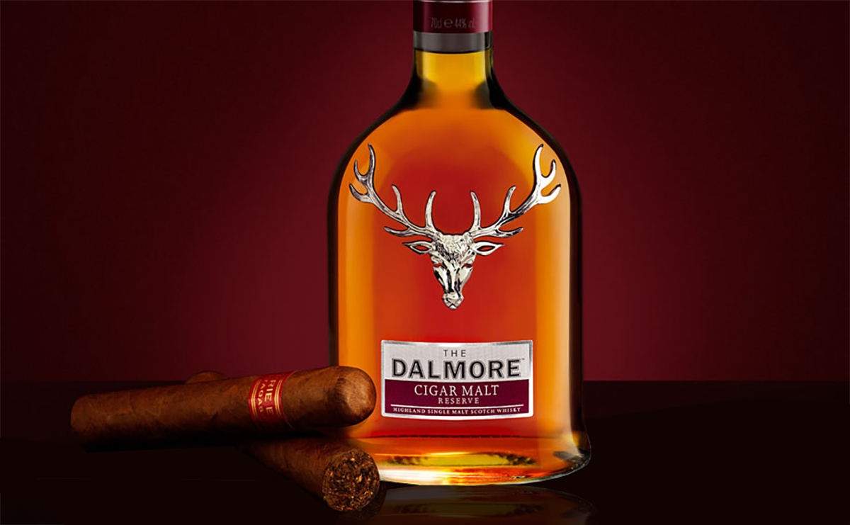Cigar Whiskey Pairings: Dalmore Cigar Malt Reserve