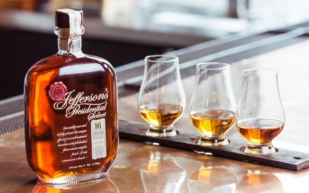 Jefferson's Presidential Select 16 Year Twin Oak 5 Years