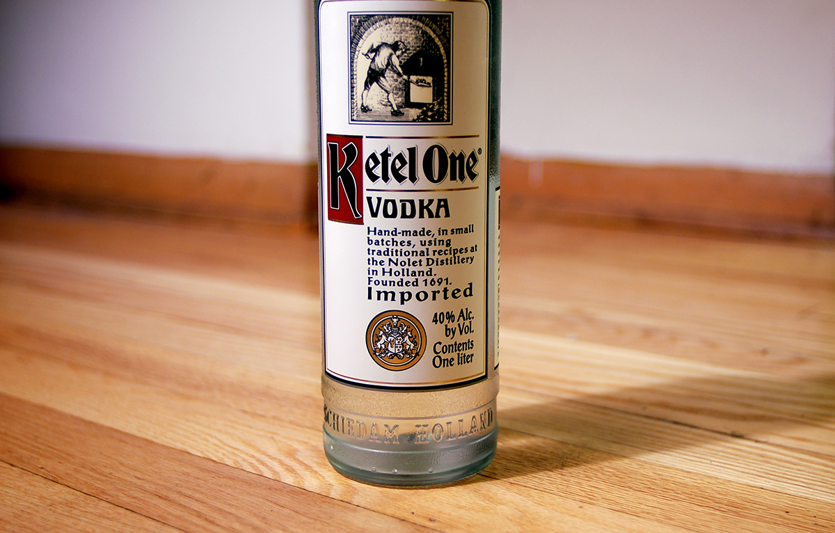 Vodka Distilled: Ketel One Vodka