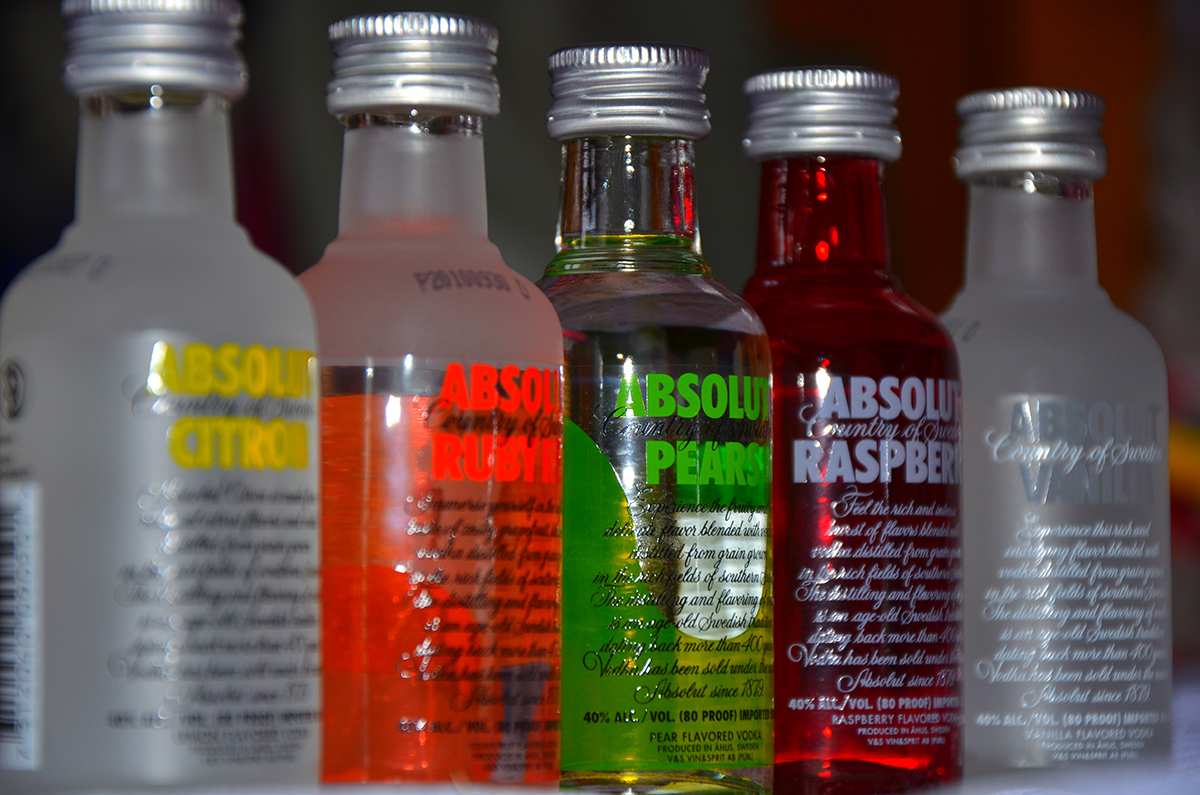 Vodka Distilled: Flavored Absolut Vodka: Flavored Absolut Vodka