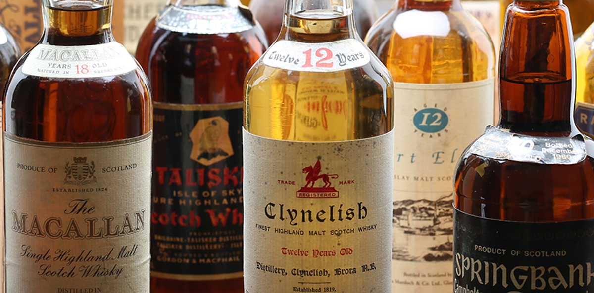 Fake Whiskey: Whisky auction bottles