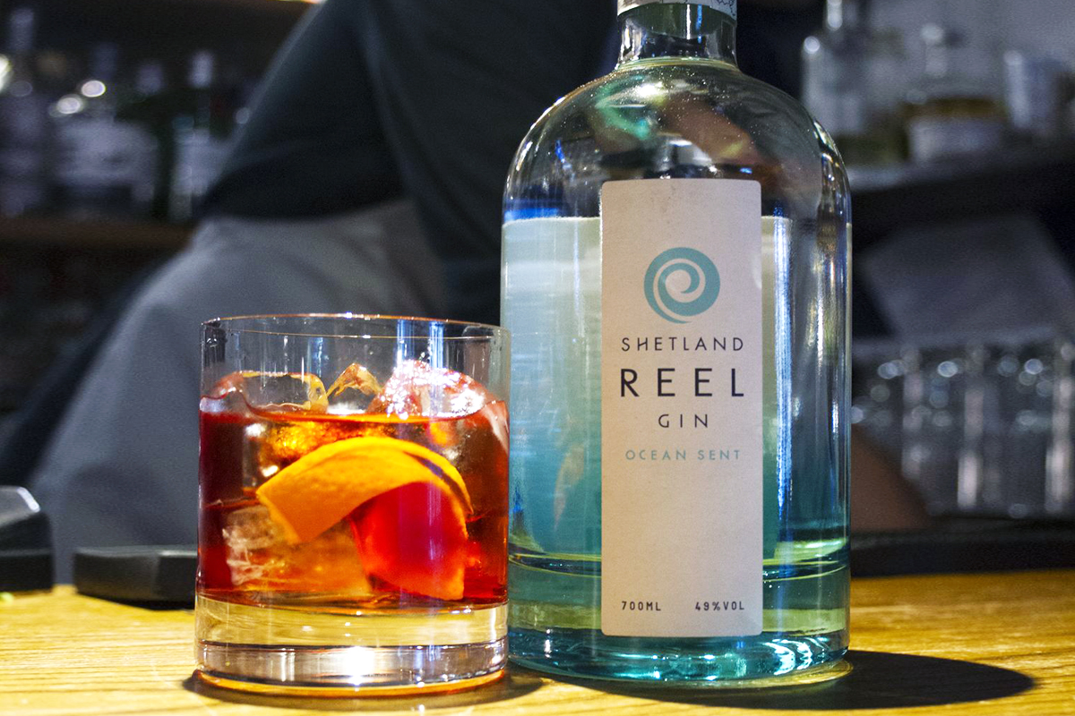 Bar Convent Berlin: Shetland Reel Ocean Sent Gin