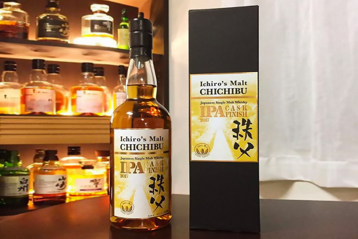 Japanese Whisky 2017: Chichibu IPA Finish 2017