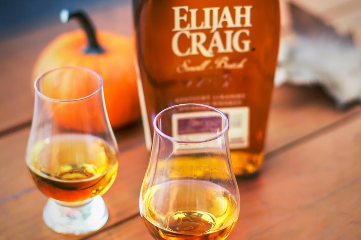 Thanksgiving Bourbon: Elijah Craig Small Batch