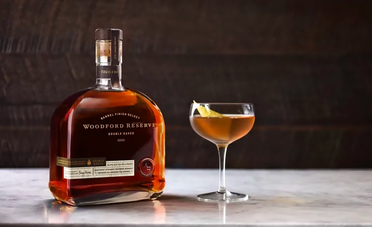Thanksgiving Bourbon: Woodford Reserve Double Oaked