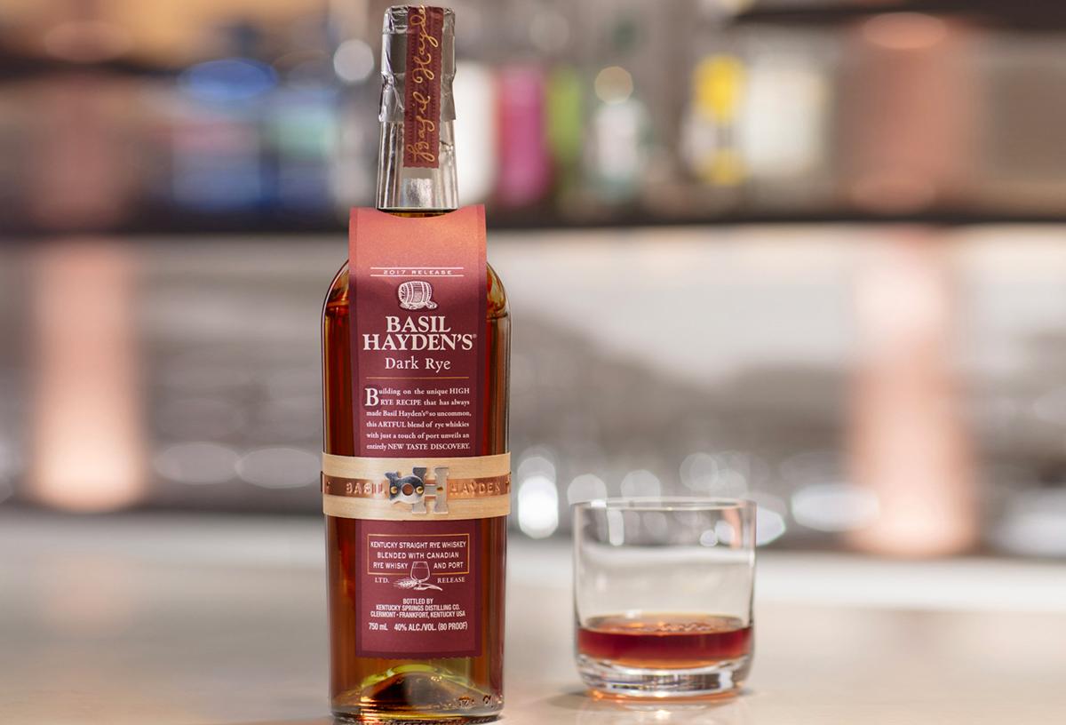 Fall Cocktails: Basil Hayden's Dark Rye