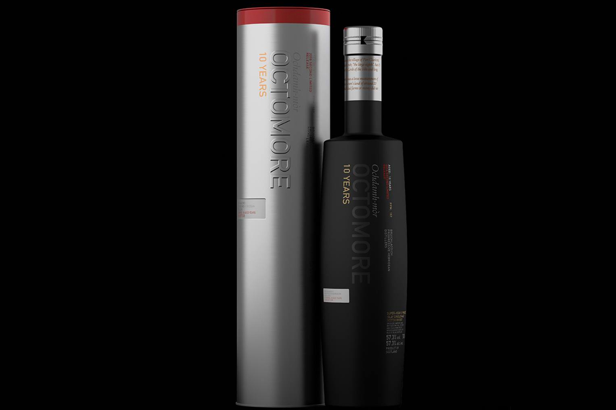 St. Andrew's Day Scotch: Octomore 10 Year (Second Edition)
