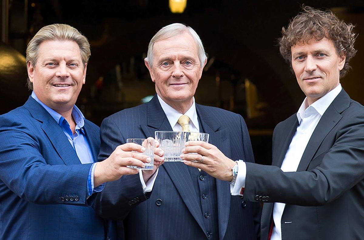 Gin Renaissance: Carl Nolet Jr., Carl Nolet Sr. and Bob Nolet
