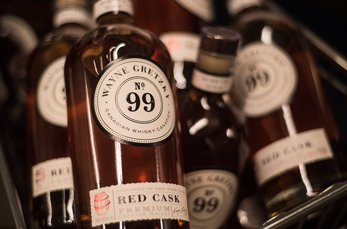 Wayne Gretzky Distillery: Wayne Gretzky No. 99 Red Cask