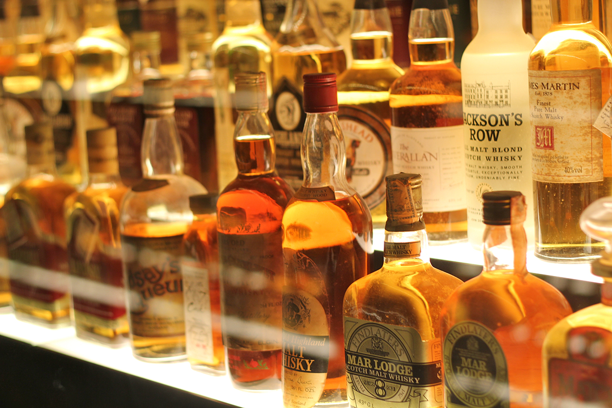 Whiskey Storage: Scotch Whisky Experience