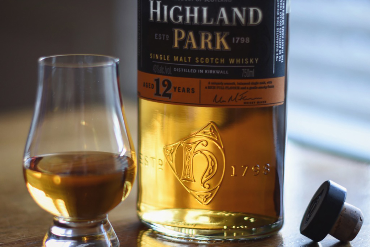 Whiskey Storage: Highland Park 12 Year