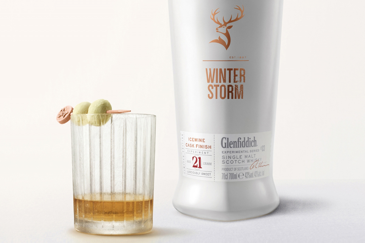 Whiskey Gift Ideas: Glenfiddich Winter Storm 21 Year