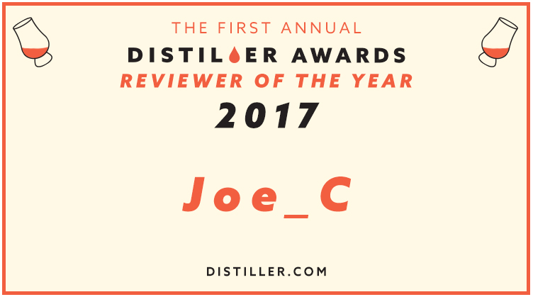 Distiller Awards 2017: Reviewer of The Year
