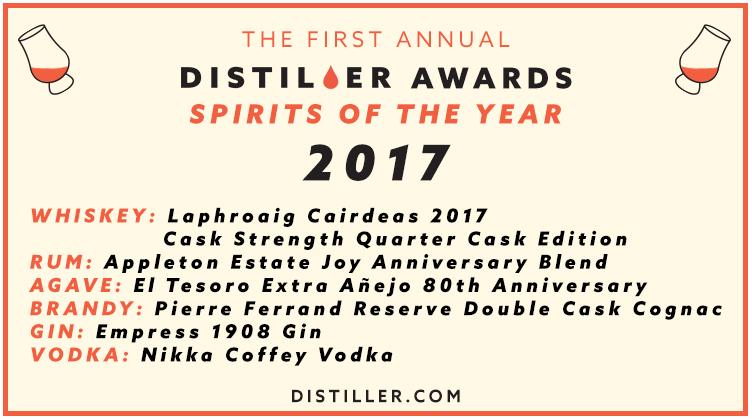 Distiller Awards 2017: Spirits of the Year