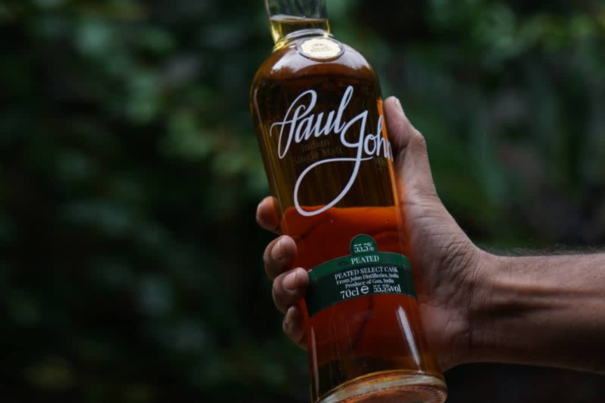 Indian Single Malt Whisky: Paul John Peated Whisky