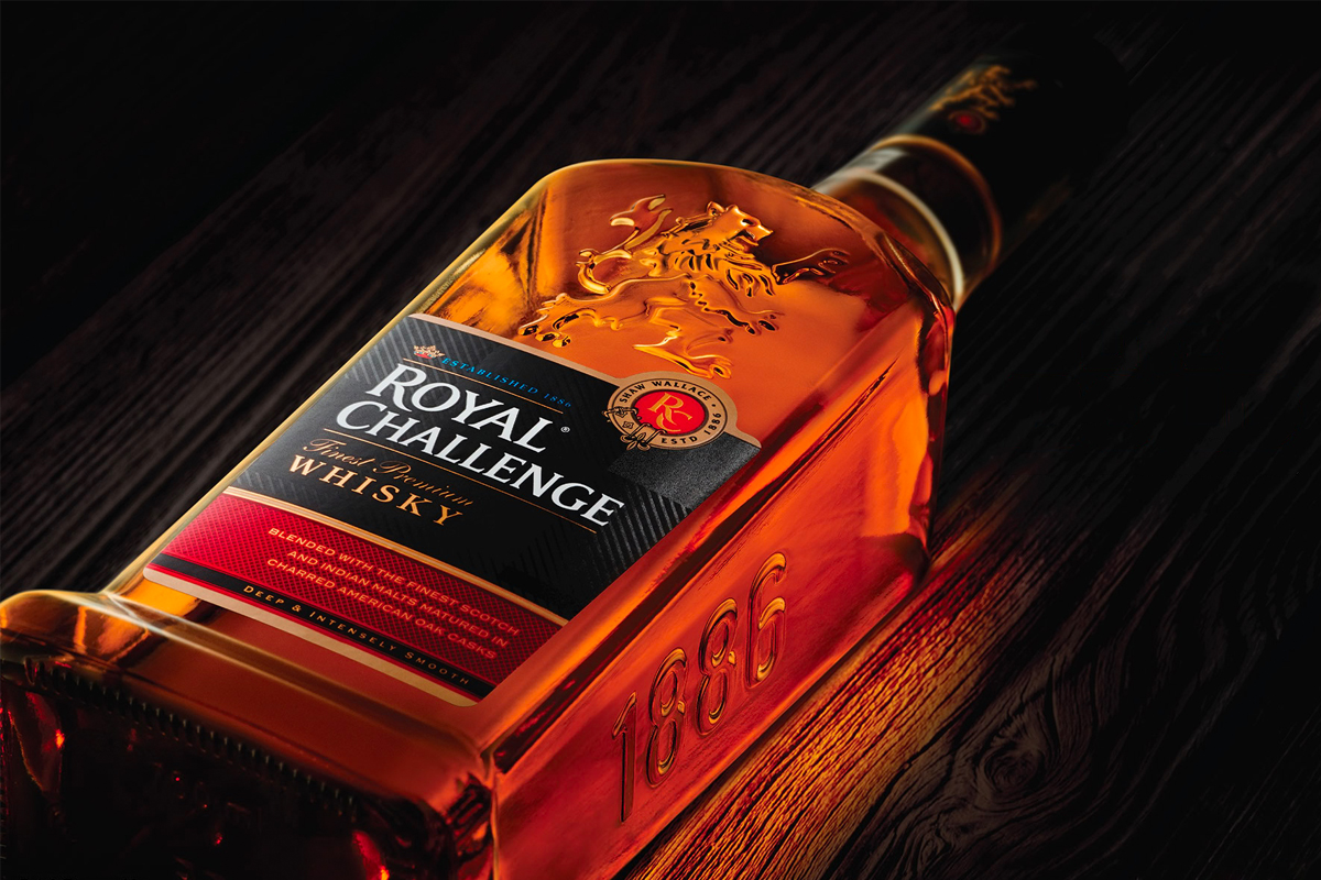 Indian Single Malt Whisky: Royal Challenge Whisky