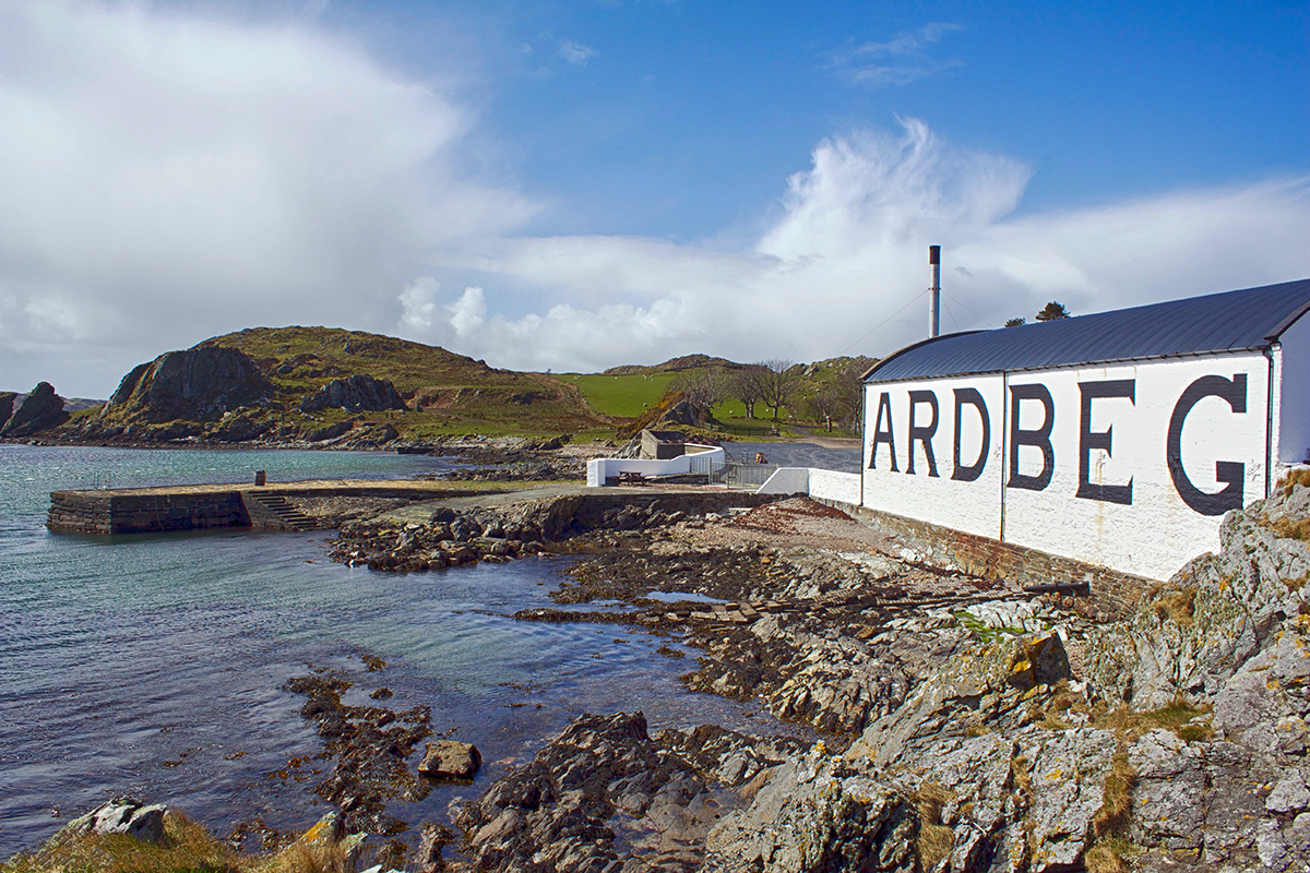 Scotch Whisky Regions: Ardbeg Distillery
