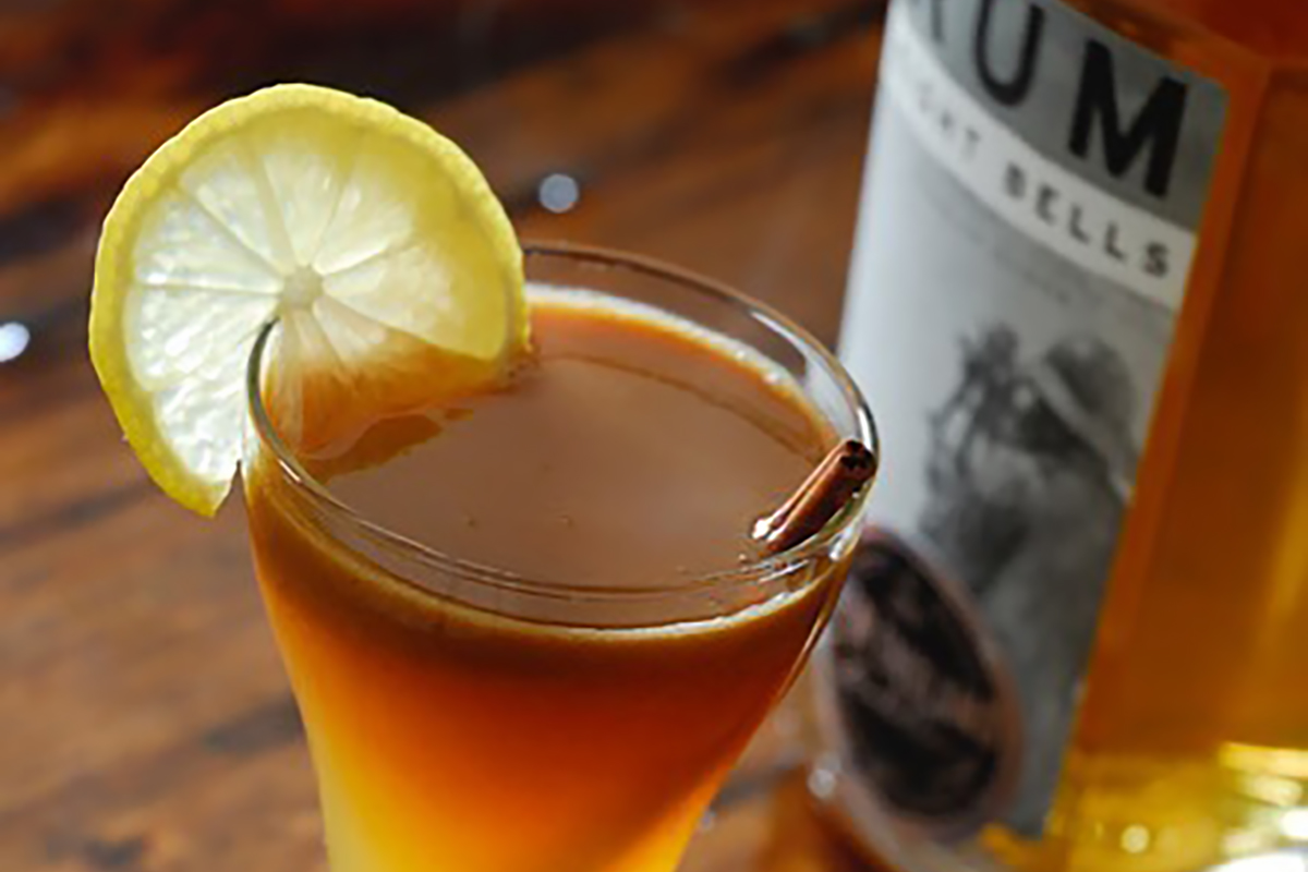 Rums from Around the World: Eight Bells Hot Buttered Rum