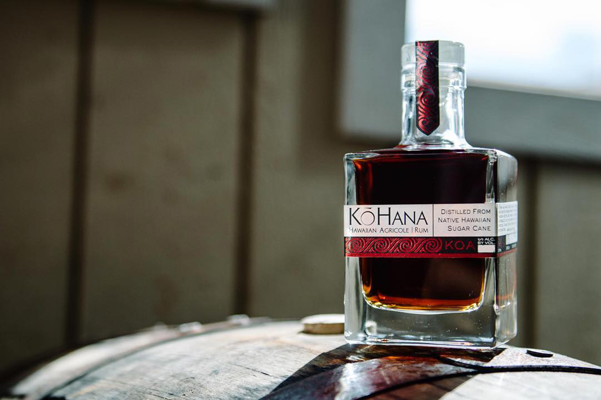 Rums from Around the World: KōHana Koa Hawaiian Agricole Rum