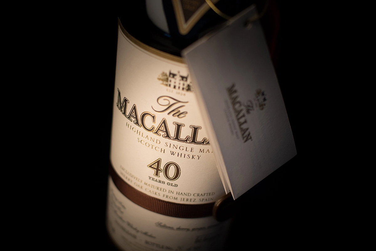 The Macallan Sherry Oak 40 Year (2017 Release)