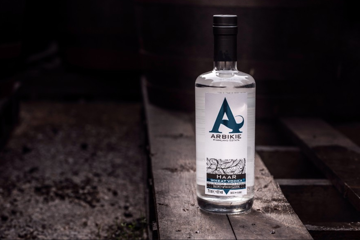 Scottish Vodka: Arbikie Haar Wheat Vodka
