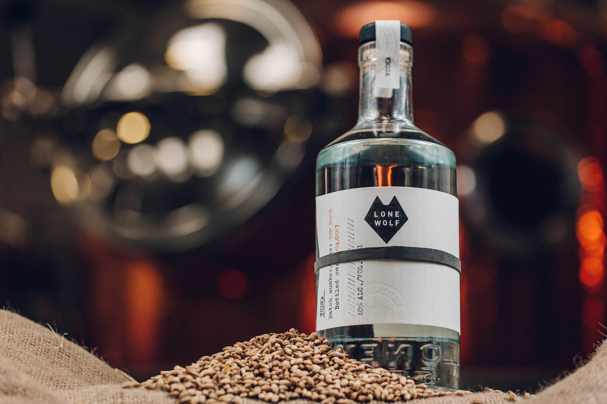 Scottish Vodka: BrewDog Lone Wolf Vodka