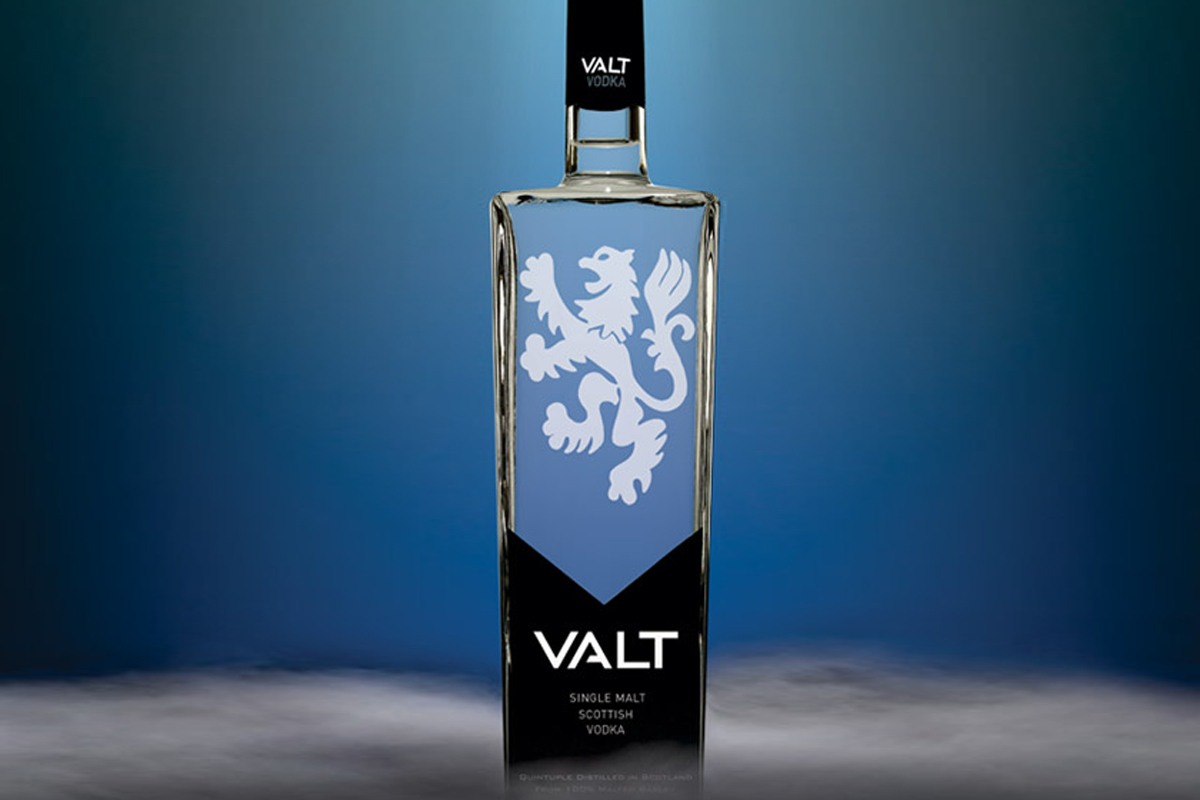 Scottish Vodka: Valt Single Malt Vodka