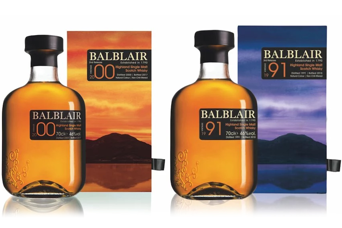 Balblair 2000 2nd Release & 1991 3rd Release
