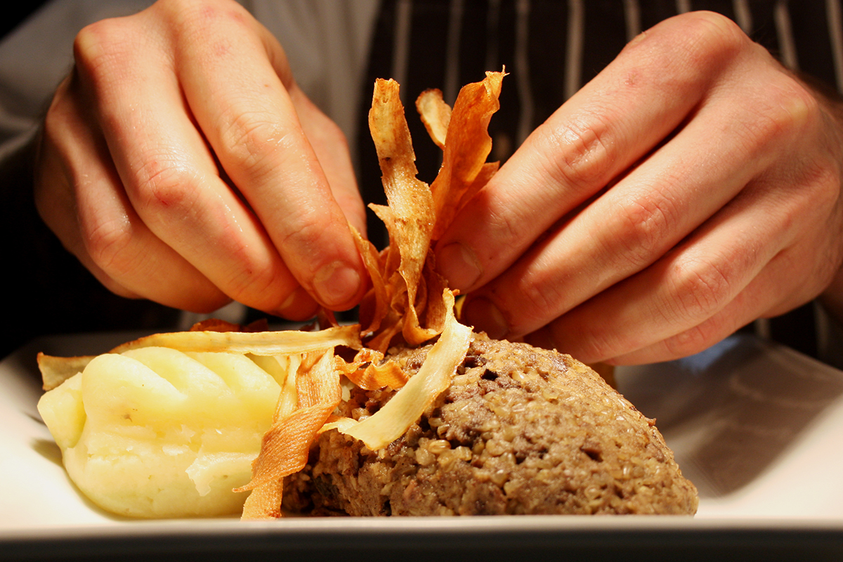Burns Supper: A Haggis Meal