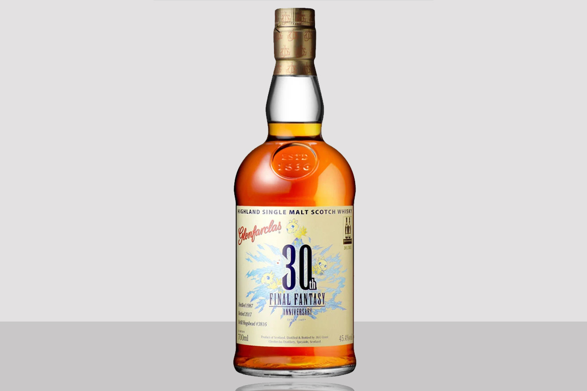 Glenfarclas Final Fantasy 30th Anniversary
