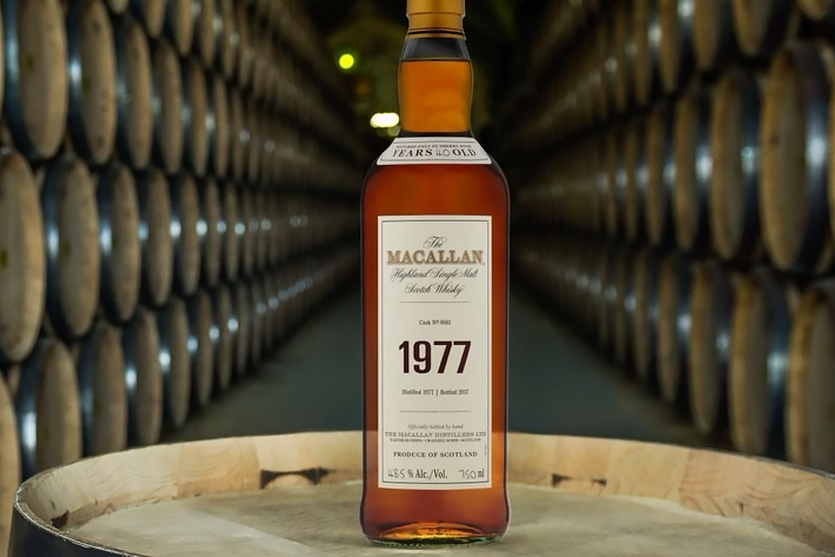 The Macallan Fine & Rare 1977 40 Year Cask #8661