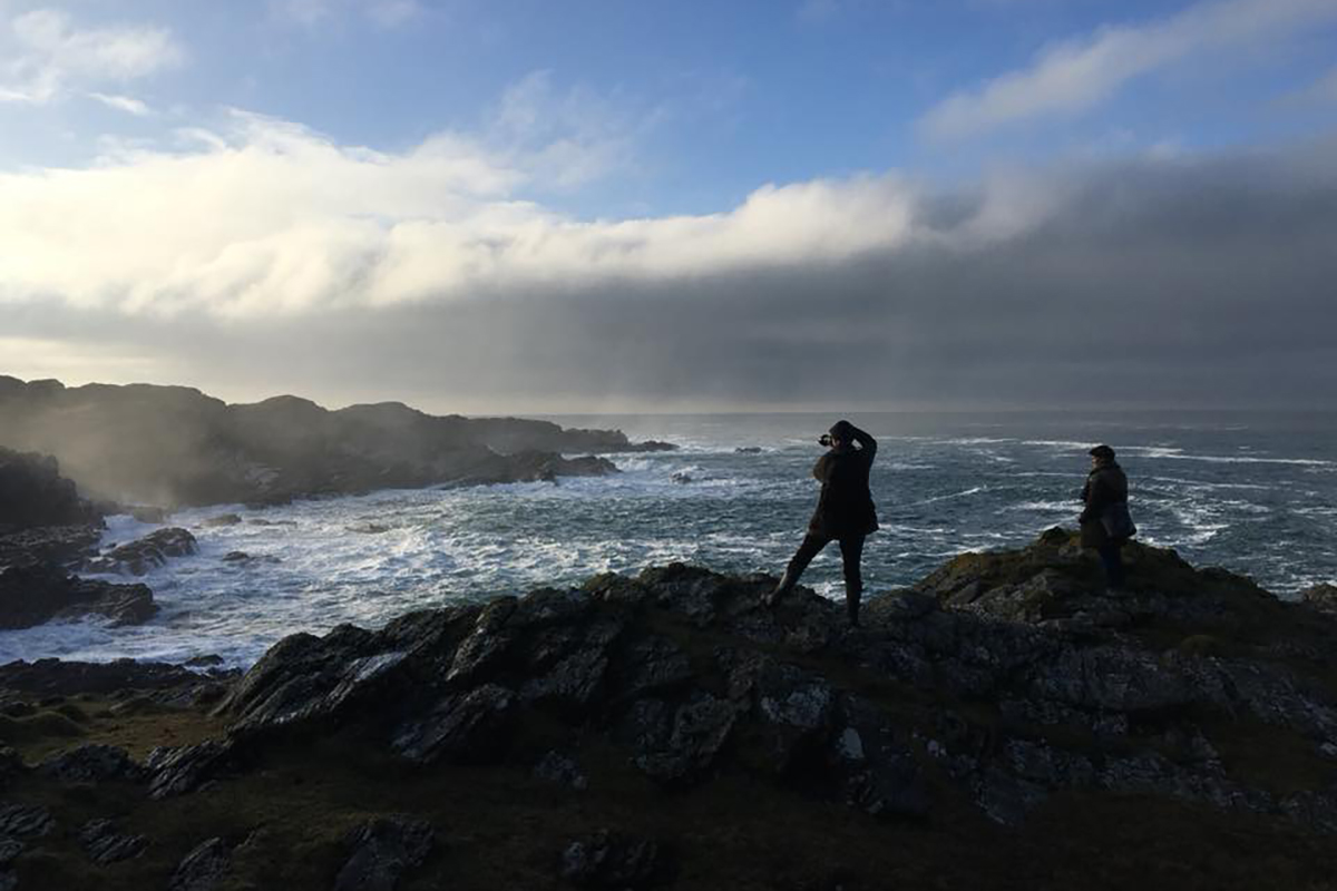 Visiting Islay: A Bruichladdich photographer shoots the water