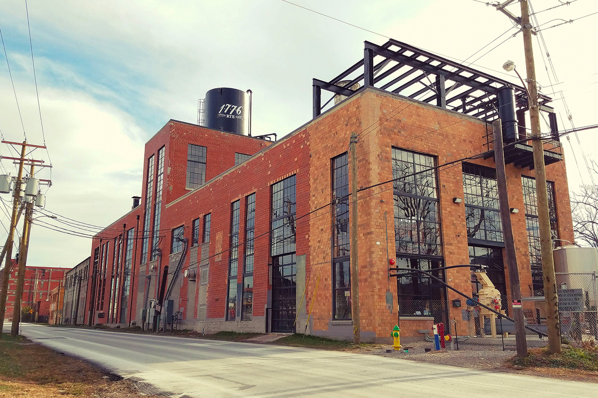 James E. Pepper: The Pepper Distillery today