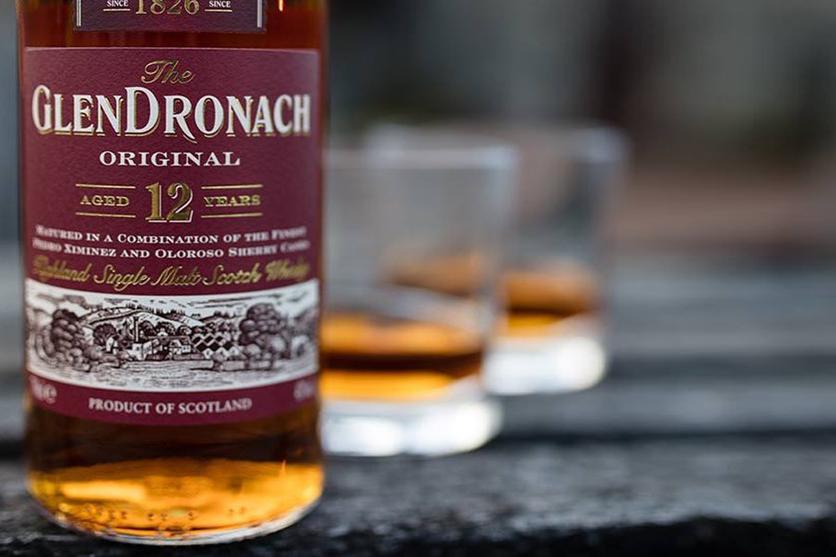 Scotch whisky flight: Glendronach Original 12 Year