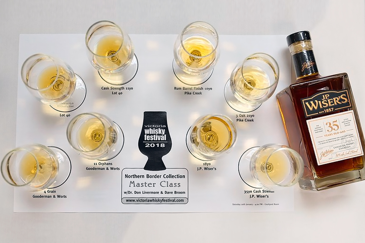 2018 Canadian Whisky: Northern Border Collection Masterclass