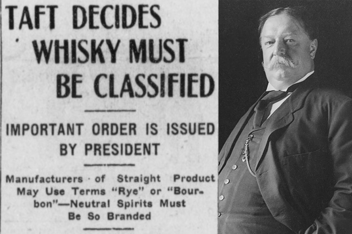 Presidents' Whiskey: Los Angeles Herald