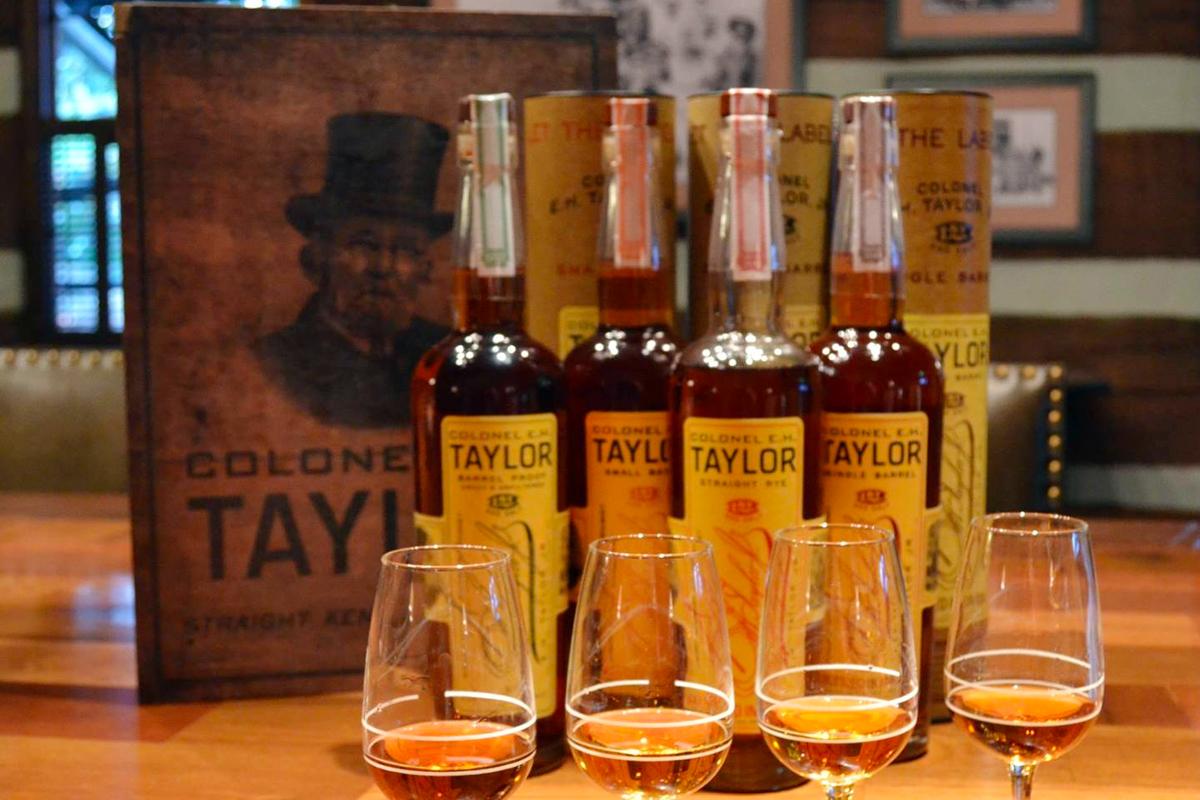 Presidents' Whiskey: E.H. Taylor whiskeys