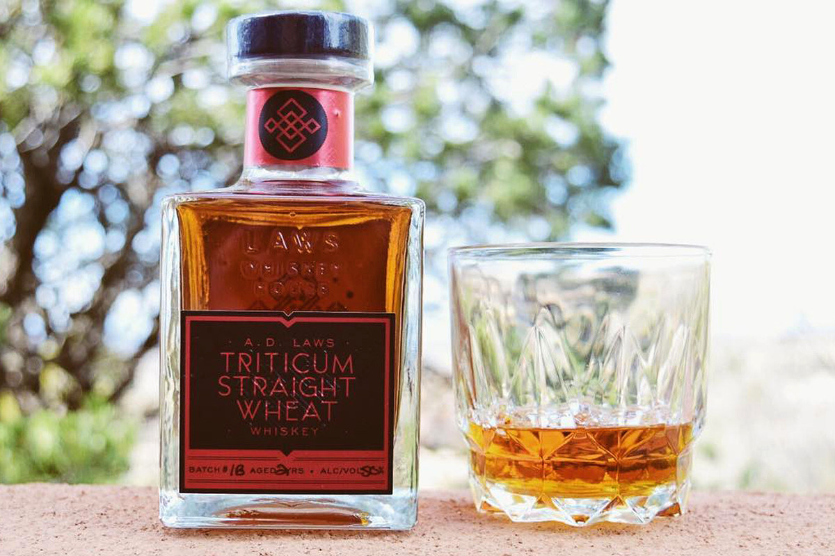 Wheat Whiskey: A.D. Laws Triticum Straight Wheat Whiskey