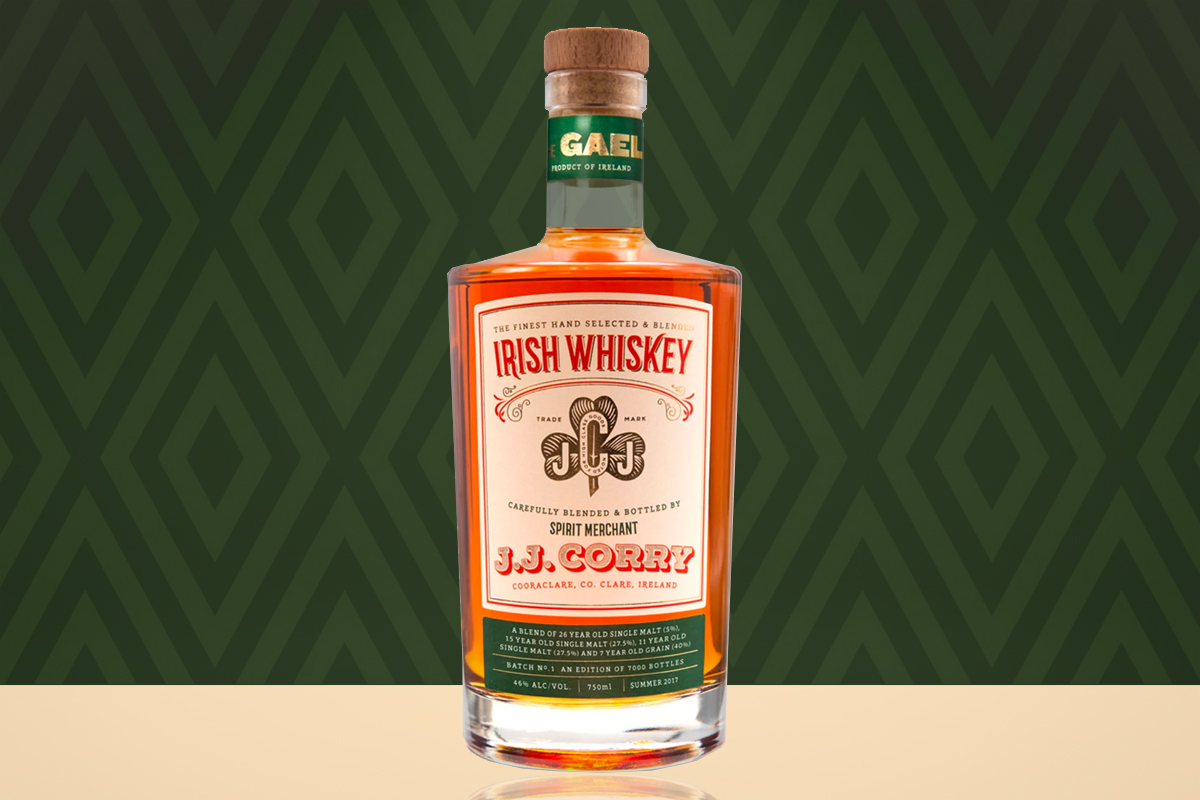 J.J. Corry The Gael Irish Whiskey