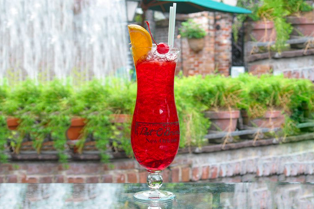 Hurricane Cocktail: Pat O'Brien's Hurricane