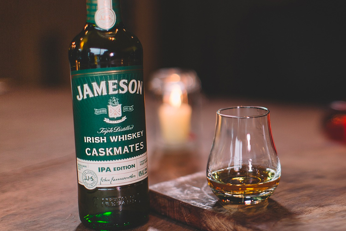 St. Patrick's Day Whiskey: Jameson Caskmates IPA Edition