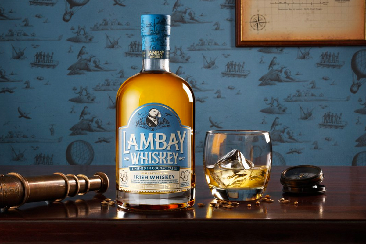 St. Patrick's Day Whiskey: Lambay Small Batch Blend