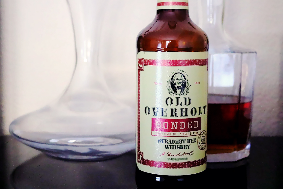 Bottled-in-Bond Whiskey: Old Overholt Bonded Rye