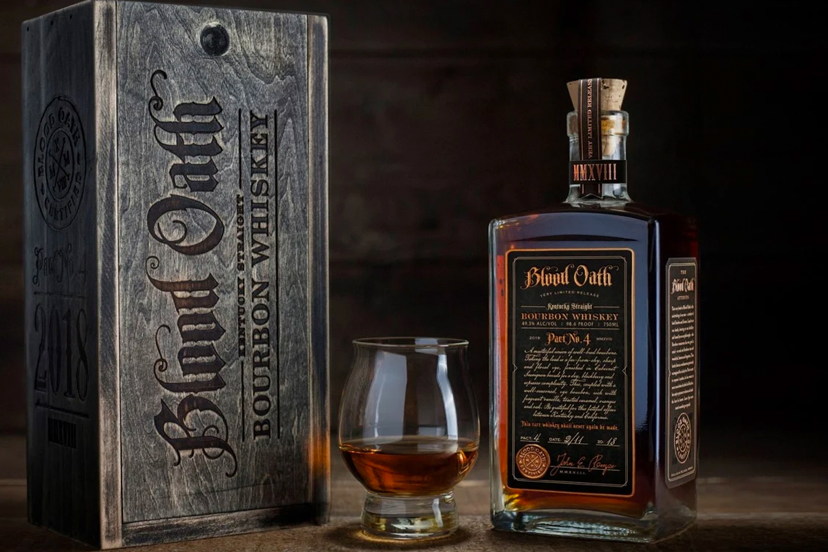 Blood Oath Bourbon Pact No. 4