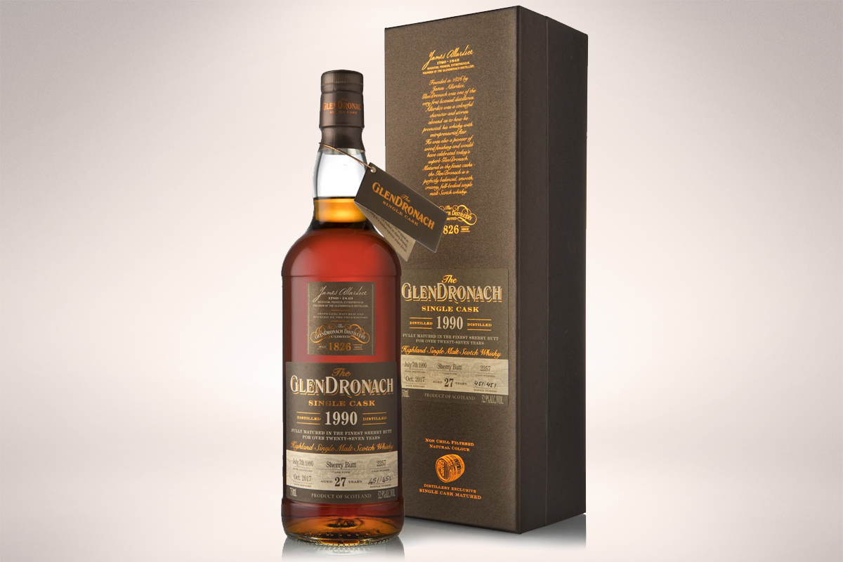 GlenDronach 1990 27 Year Sherry Butt Single Cask #2257